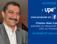 Facebook live UPE13 Tribunal de commerce